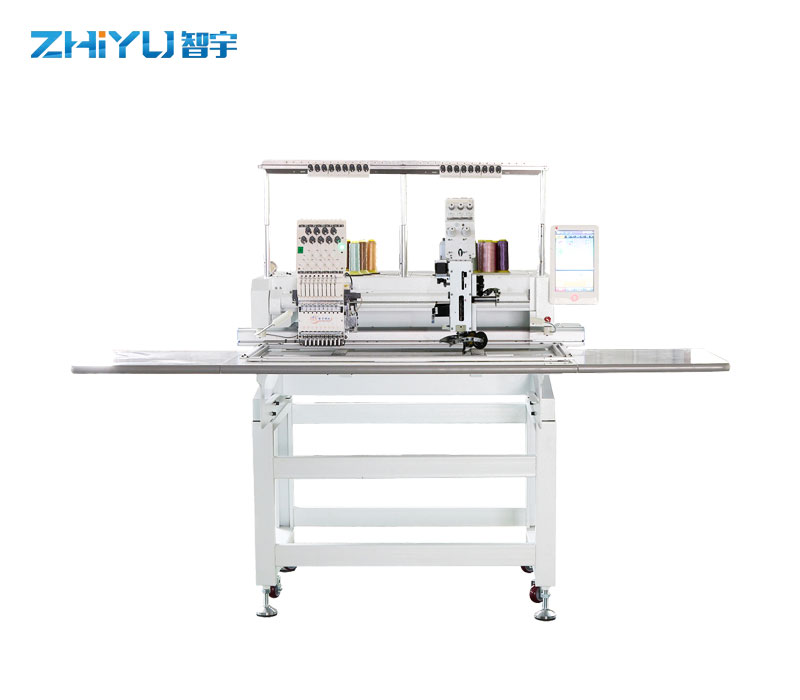 901 Single Head 9 Needles Taping/Cording Device Embroidery Machine